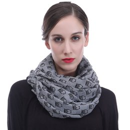 $enCountryForm.capitalKeyWord UK - Cute Doctor Owls Print Women's Infinity Scarf Wrap Large Size Soft Light Weight for All Seasons