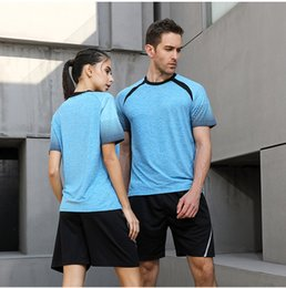 $enCountryForm.capitalKeyWord Australia - New Men Women Sportswear Quick Dry T-Shirts Running Loose Breathable Tops Tees Sport Exercise Fitness Gym Training Clothing
