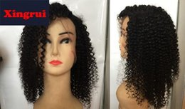 Style Wavy Front Lace Wigs NZ - 2019 New short bob style Glueless Lace Wig wave Density natural color Wavy Lace Front Human Hair Wig Baby Hair