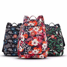 baby wash bag 2019 - 2018 Multi-Function New Design Washed Nylon Fashion Shoulder Nappy Bag Large Capacity Backpack Travel Bag for Baby Care