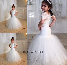 $enCountryForm.capitalKeyWord Australia - Toddler Pageant Dresses Kids Prom Gowns Crystal Beaded Formal Little Girls Birthday Party Dress
