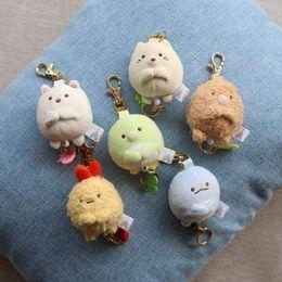 "$enCountryForm.capitalKeyWord Canada - Top New 6 Styles 2.5"" 6CM Sumikko Plush Doll Pendant Anime Dolls Keychains Party Gifts Stuffed Soft Toys"