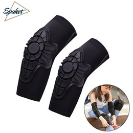 Elbow Supports Children Australia - SPAKCT Sport Safety Children Elbow Pads Knee Pads Cycling Silicone Elbow Protect Cover Pulley Bicycle Knee Pad Support Accessory