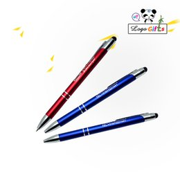 $enCountryForm.capitalKeyWord Australia - 600Pc Free Shipping Top Quality Pen metal Ballpen Pen Touch for company new year gifts can laser engraving company logo