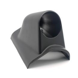 "52mm Gauge Holders Australia - Auto Car Gauge Pod Holder 1 Holes Triple Gauge Meter Mount 2"" 52mm Universal A Pillar Left Hand Drive Black"