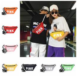 e34ad5c16ab Pink Fanny Pack Pink Letter Waist Belt Bag 14 Colors Love Pink Beach Bags  Crossbody Handbags Cosmetic Bag Outdoor Bags OOA5237