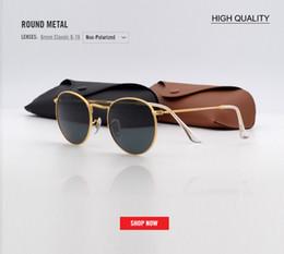 36bcd236a5 2018 nueva moda ronda gafas de sol de color rosa mujeres de lujo de metal  gafas de sol de verano UV400 negro gradiente diseñador gafas 3447 gafas  mujer