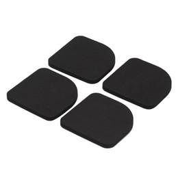 Chinese  4Pcs EVA Washer Slip Mats Reducing Refrigerator Mute Pad Anti-vibration Noise Pad Washing Machine Proof Mat manufacturers