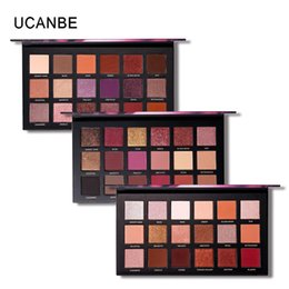 Discount eyeshadow palette mirror - Brand Kylie Duplicate 18 Colors Shimmer Matte Make Up Palette With Mirror Maquillage Burgundy Pallete Eyeshadow Drop Shi