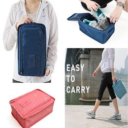 In Dependable Hot Portable Travel Outdoor Waterproof Tote Pouch Shoe Storage Zip Bag Organizer Fashionable Style;