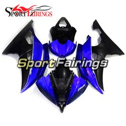 $enCountryForm.capitalKeyWord UK - Blue Matte Black Motorcycles Fairing Kit For Yamaha YZF600 R6 YZF-R6 2008 - 2016 09 10 11 12 13 Injection ABS Plastic Motorcycle Body Kit