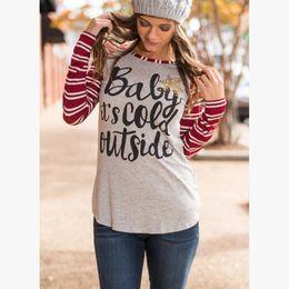 756c357cdc33e woman plus size christmas tops 2019 - Winter Christmas T Shirt Women Long  Sleeve Women Tops