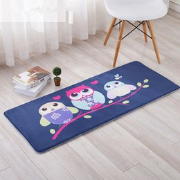 microfiber kitchen mats Australia - Cute Home Decoration Size 40*60 cm Bathroom Carpet Mats Doormat Kitchen Pad Bath Mats Water Absorbent Non-slip Mat Tapete Living Room Carpet