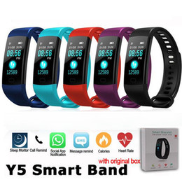 China Smart Band Watch Color Screen Wristband Heart Rate Activity Fitness tracker Smart Electronics Bracelet for iphone Samsung supplier electronic reminder for iphone suppliers