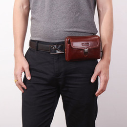 $enCountryForm.capitalKeyWord Canada - 2018 Men Genuine Leather Cowhide Vintage Hip Bum Belt Pouch Fanny Pack Waist Wallet Purse Travel Sling Business Casual bags