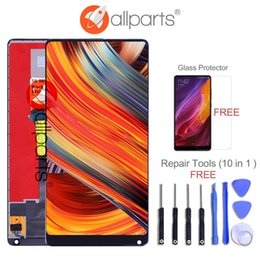 """$enCountryForm.capitalKeyWord Australia - ALLPARTS 5.99"""" IPS Display For XIAOMI Mix 2 LCD Touch Screen Digitizer Replacement for Snapdragon 835 XIAOMI MI MIX 2 LCD MIX2"""