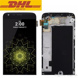 G5 replacement online shopping - For LG G5 H830 H840 H850 H868 LS992 LCD Display Touch Screen Digitizer Full Assembly LCD screen replacement With Bezel Frame