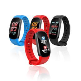 Discount new bluetooth wrist smart bracelet watch - 2018 New F603 Color LCD Smart Bracelet Bluetooth With Heart Rate Monitor Pedometer Sleep Fitness Tracker Wristband Watch