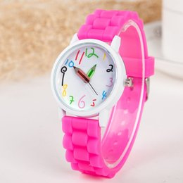 Discount pencil watches - Fashion Jelly Silicone Women Watches Luxury Pencil Pattern Girls Watch Brand Casual Ladies Quartz Wristwatches Clock Gif