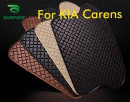 Trunk Liner Carpet Australia - Car Styling Car Trunk Mats for Kia Carens Trunk Liner Carpet Floor Mats Tray Cargo Liner Waterproof 4 Colors Opitional
