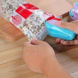 Portable Mini Thermoscellage Machine Ménage Impulse Scellant Joint Emballage Sac En Plastique En Plastique Économiseur De Nourriture De Stockage Cuisine Outils en Solde