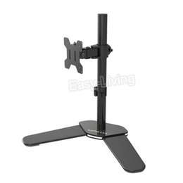 """Chinese  Desktop Full Motion 360 Degree Single Monitor Holder 10""""-27""""LCD LED Monitor Mount Arm Loading 9.9kgs Each Head manufacturers"""
