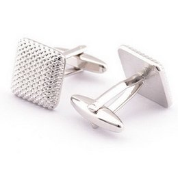 Discount plated mens silver cufflinks - Cindiry French Shirt Men Jewelry Unique Wedding Groom Men Cuff Links Business Gold Cufflinks For Mens Ashion Jewerly P2