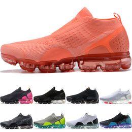 soccer boots online 2019 - MOC 2.0 Men Women Running Shoes Core Triple Black White Wheat Grey Oreo Crimson Pulse Cheap Run Sport Sneaker Wholesale