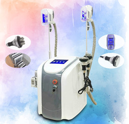 $enCountryForm.capitalKeyWord Canada - Top Quality !!! Double Cryo Handles Cool Body Sculpting Cryo Lipolysis Slimming Machine Cavitation RF Lipo Laser Fat Freeze Slimming Machine