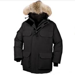 Warmest Goose Down Parka Australia - hot sale Brand 2018 New Mens thick Goose Down Fire Rhinoceros CHATEAU Parka Coat Winter Warm Jacket