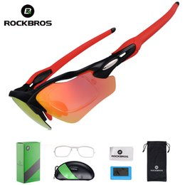 6b98580531 ROCKBROS Ciclismo Polarizado Ciclismo Gafas UV400 Ciclismo Deportes Gafas  Ultraligero Montar Gafas de Sol Bicicleta de Pesca Equipo de La Bici