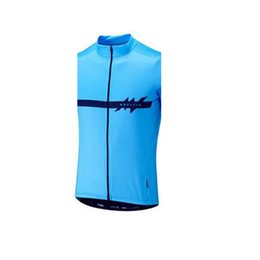 men s sleeveless cycling jersey UK - Morvelo team Cycling Sleeveless jersey Vest Summer men Quick-Dry MTB Tops ropa ciclismo road bike clothing riding shirt U62824