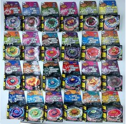 Beyblade Fury Australia - Wholesale Beyblade Metal Fury 24 Different Styles Without Launcher Beyblade Fury Brinquedo Christmas Gift For Kids