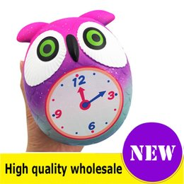 SportS alarm online shopping - Squishy alarm clock high quality Jumbo Slow Rising Soft Oversize Phone Squeeze toys Pendant Anti Stress Kid Cartoon Toy Decompression Toy