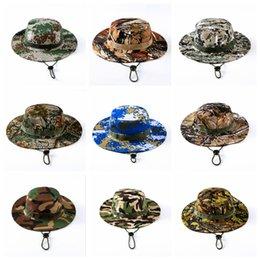Тактический ведро шапочки шляпы страйкбол снайпер камуфляж Непальский Cap военная армия американские военные аксессуары пешие прогулки шляпы 11 цветов OOA4878