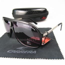 e85ab9a3a6 Luxury Brand Designer Sunglasses Fashion Metal Square Frame CA Sunglasses  Men Woman Outdoor Sport Vintage Retro Eyewear Oculos De Sol C28