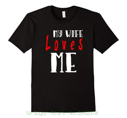 My Wife Loves Me T-shirt  Unique Valentine Gifts For Husband Men Summer Short Sleeves Casual  sc 1 st  DHgate & Unique Gifts Wife Online Shopping | Unique Gifts Wife for Sale