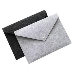 Durable Button Ordner Einreichung liefert A4 Filz Datei Tasche kreative tragbare Archivierung Tasche Schule Büroartikel 4ry C R