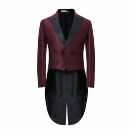 $enCountryForm.capitalKeyWord UK - 2017 Long Tuxedo Jacket Slim Men Suit Evening Stage Formal Dress Suits For Man Costume Blazer Plus Size