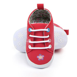 80f087388fb3 Newborn Baby Boy Girl Shoes PU Brand Soft Soles Non-slip Lace-Up First  Walkers Toddler Crib Shoes Baby Sneakers