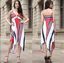 Dresses Amazon Canada - spring explosions Amazon Europe and the United  States fashion summer large size a868cd552cba