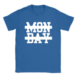 b6395c32 Bosses Day Gift UK - Mon Day Mens T-Shirt Funny Quote Hate Mondays Work