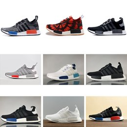 0f5c1978b29da AD01-3 2018 Runner R2 Mesh Triple White Black Blue Pink Green Men Women  Casual Shoes Sneakers Originals Runner Primeknit Shoes 5-11