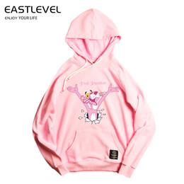 Abrazo de la moda la pantera rosa impresión sudaderas con capucha de los hombres ropa gruesa sudaderas hombres Hip Hop ropa de calle ropa de hombre sólido en venta