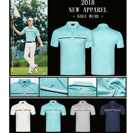 782cad07 Men's T Shirts Full Sleeve Canada - New mens Sportswear Short sleeve Golf T- shirt