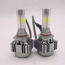 h4 headlight conversion Australia - CREE 500W 10000LM H1 H4 H7 H11 9005 9006 9007 LED Headlights Lamp Bulb Conversion Kit Hi Lo combo