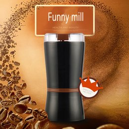 food grinders electric 2018 - 150W Powerful Electric Coffee Grinder Mini Home Electric Spice and Coffee Grinder beans pill Household Funny Mill discou