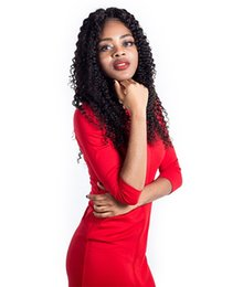 Long Lasting Hair NZ - For women new long lasting nature human hair affordable 100% unprocessed long natural color no shedding kinky curly full lace wig