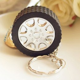 $enCountryForm.capitalKeyWord NZ - Keychains Creative Auto Parts Model Thicker Wheel Tyre Tire Keychain