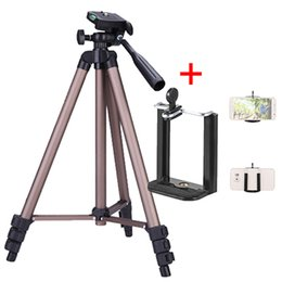 Wholesale WT3130 Camera Phone Holder Tripod Bracket Stand Mount Monopod Styling Accessories For Mobile Phone DLSR Camera